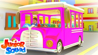 Wheels On The Bus | Nursery Rhymes & Kids Songs | Baby Song