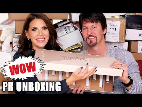 FREE STUFF BEAUTY GURUS GET | Unboxing PR Packages ... Episode 17