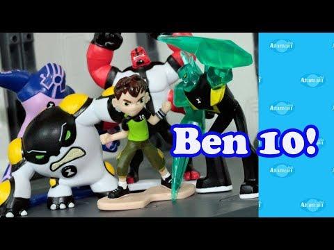 Ben 10 Reboot Mini Figures First Wave Unboxing