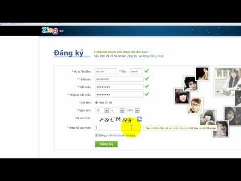 CĐ thực hành FPT  manhdvph00756 hướng dẫn tạo tài khoản trên zing me