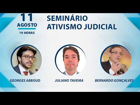 ESMEG - Seminário - ATIVISMO JUDICIAL