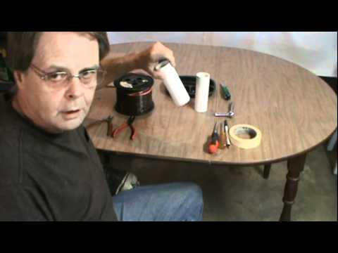 Ham Radio 40 80 Meter Inverted V Dipole Antenna Youtube