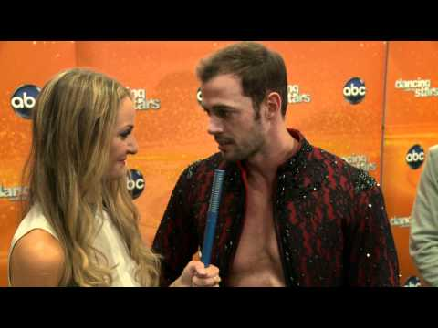 AfterBuzz TV Interviews William Levy @ DWTS April 30th, 2012