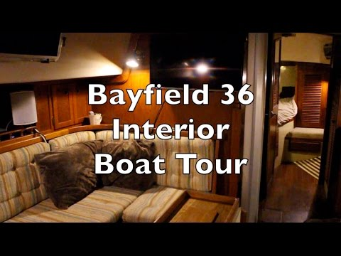 Life is Like Sailing - Bayfield 36 Interior Boat Tour