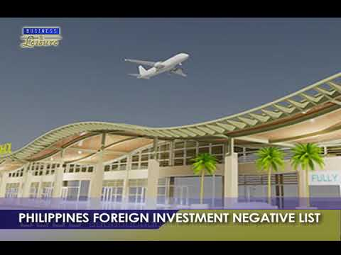 PHILIPPINES FOREIGN INVESTMENT NEGATIVE LIST   BIZWATCH