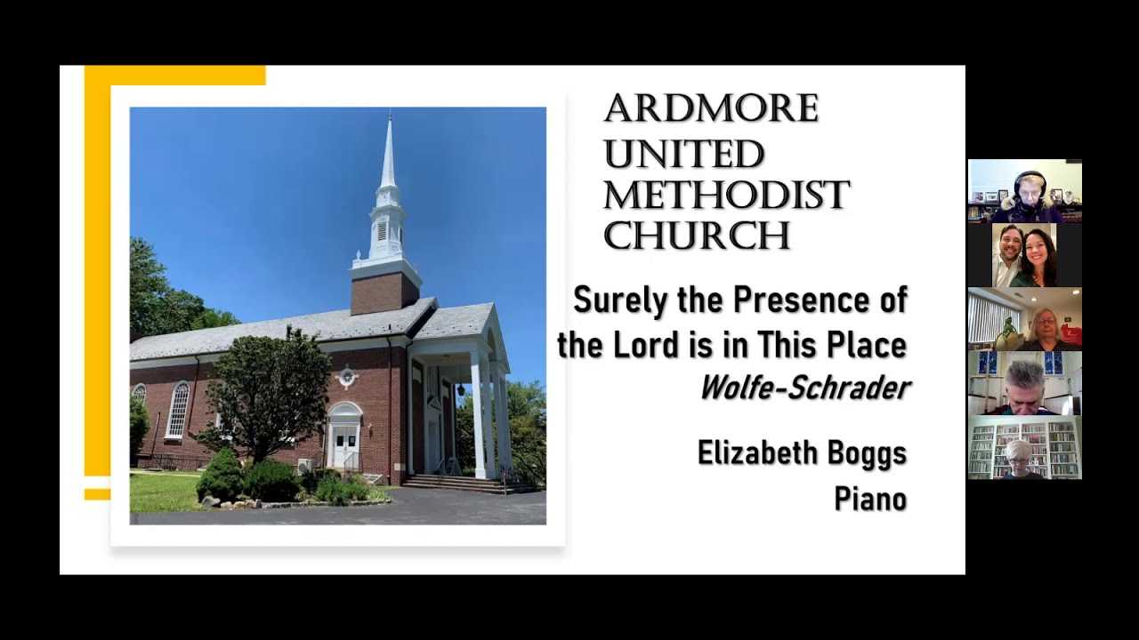 October 18th Online Worship Ardmore UMC PA