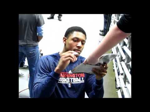 *Washington Wizards vs Milwaukee Bucks* IP Autograph Recap (2-11-13)
