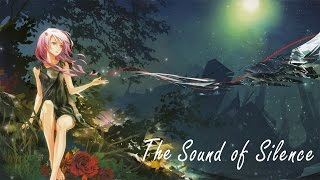 Nightcore - The Sound of Silence [Lyrics]
