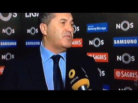 Flash interview de José Peseiro (Estoril 1 - 3 FC Porto) | Canto e Golo