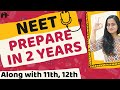 How to Prepare for NEET in 2 years along with class 11 and 12 ?