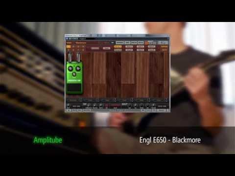 IK Multimedia AmpliTube 3 Engl E650 vs real Engl Blackmore