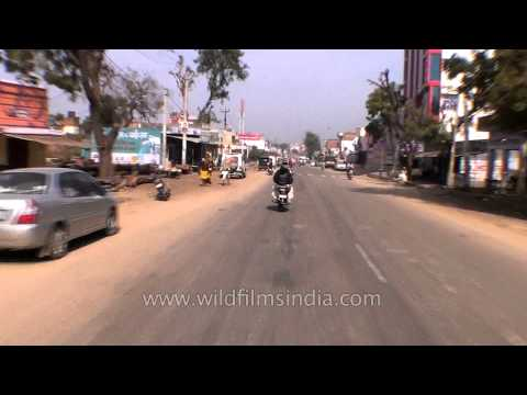 Driving to Abhaneri from Dausa