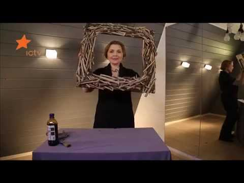 Видео Рамка для зеркала из дерева мастер-класс - Дача 22.03.2014