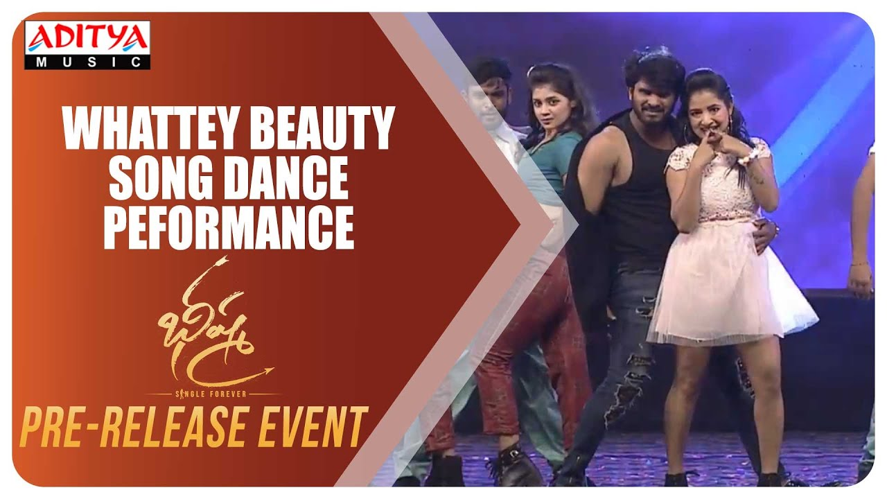 Whattey Beauty Song Dance Peformance Bheeshma Pre Release Event Nithiin Rashmika Youtube