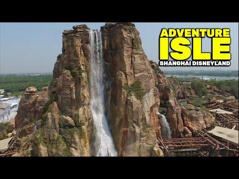 Adventure Isle overview at Shanghai Disneyland