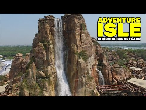 Adventure Isle overview at Shanghai Disneyland