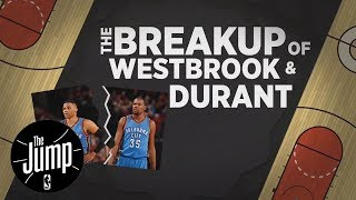 ESPN True Hardwood Story: The Breakup of Russell Westbrook and Kevin Durant | The Jump | ESPN