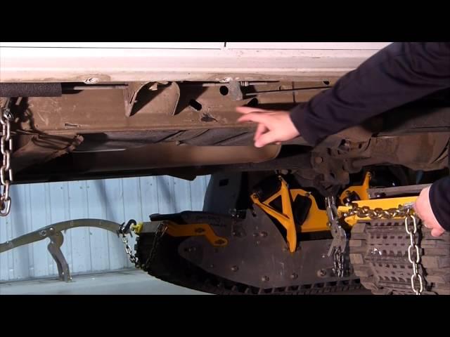 Track N Go Installation SUV-KIT (Francais)
