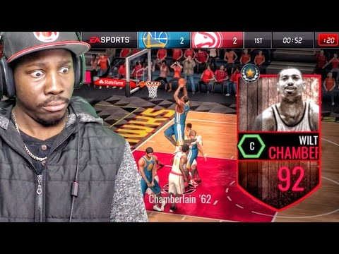 92 WILT CHAMBERLAIN WANTS 100 POINTS! NBA Live Mobile 16 Gameplay Ep. 48