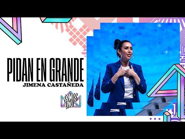 Pide en grande - Jimena Castañeda (29 -SEP - 2018) - G12TV