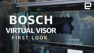 Bosch Virtual Visor first look at CES 2020
