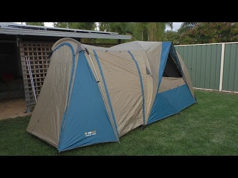 OZtrail tent from Rayu0027s Outdoors & OZtrail tent from Rayu0027s Outdoors - YouTube