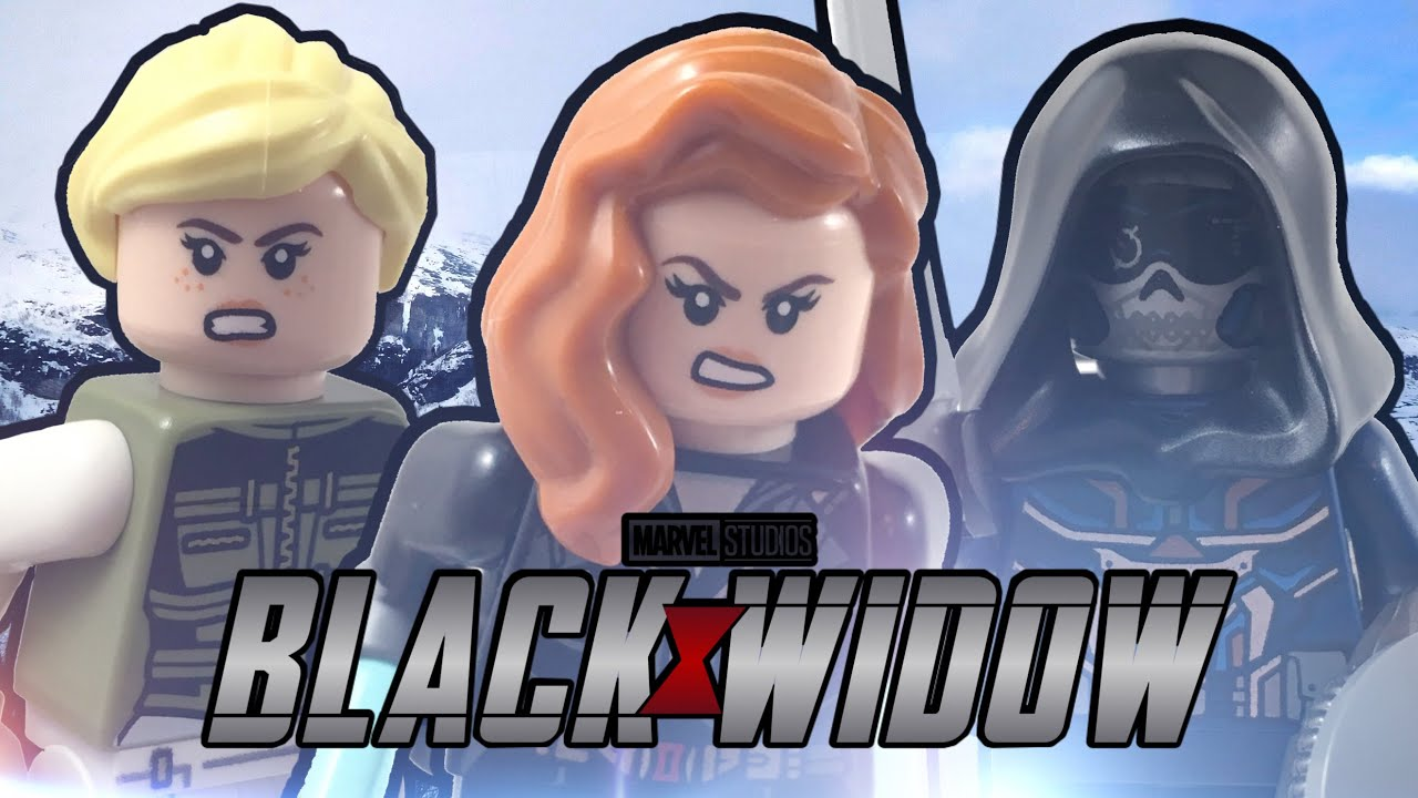 LEGO Black Widow's Helicopter Chase 2020 Set Review! (76162)