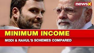 Minimum Income Guarantee Scheme: PM Narendra Modi vs Rahul Gandhi compared