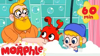 Morphle takes a Bath  Muddy Morphle | Stay Clean with Morphle | Cartoons for Kids | Morphle TV