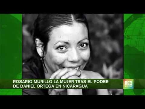 Rosario Murillo la mujer tras el poder  de Daniel Ortega en Nicaragua