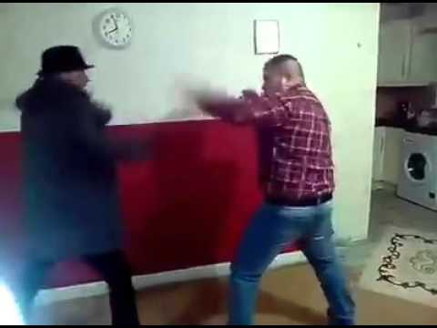 Paddy Joyce Shows Pat Ward How To Fight