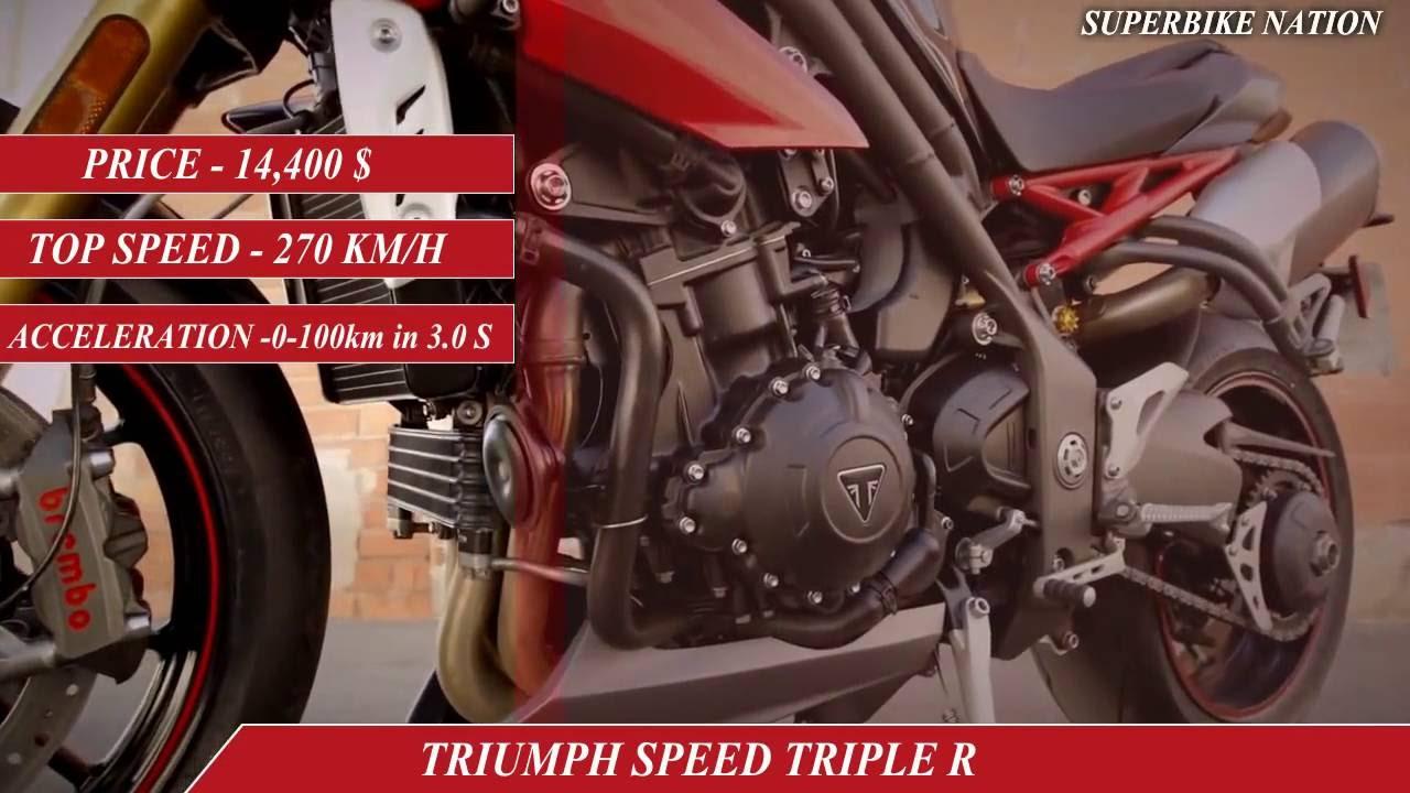 Yamaha Mt10 Vs Triumph Speed Triple R Youtube