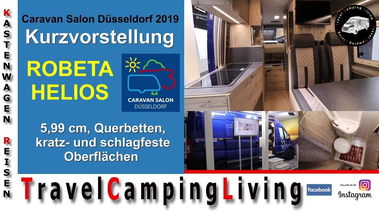 Robeta Helios, Modelljahr 2020   Caravan Salon Düsseldorf 2019,  Kurzvorstellung & Roomtour