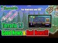 Terraria 1.3 MOBILE UPDATE - Good News & Bad News (ANDROID AND IOS)