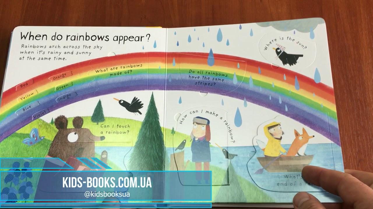Kids Books детская книга Usborne Lift The Flap First Questions And