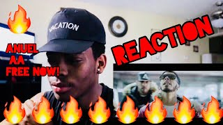 Anuel AA - NUNCA SAPO - REACTION/REACCION