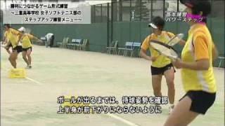 勝利につながるゲーム形式練習~三重高等学校 女子ソフトテニス部... thumbnail