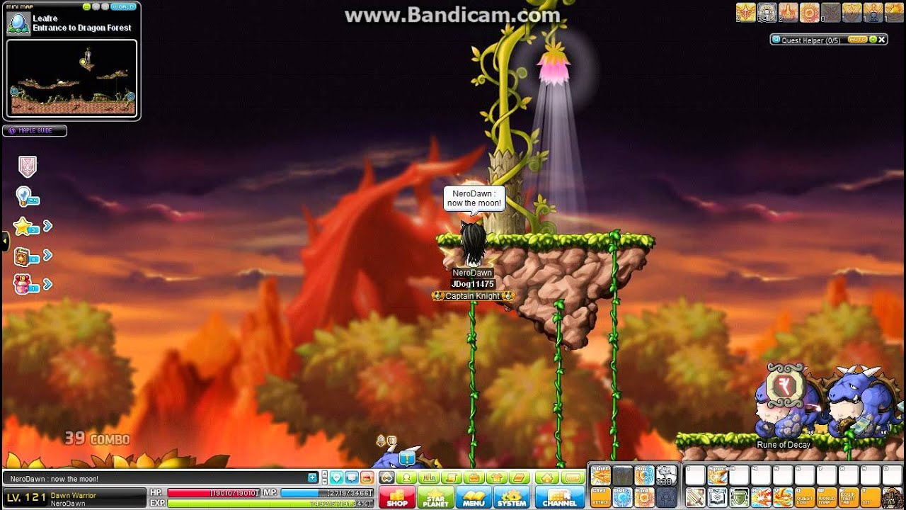 Dawn warrior guide | dexless, maplestory guides and more!