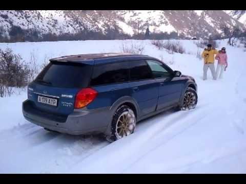 Subaru Outback turbo snow