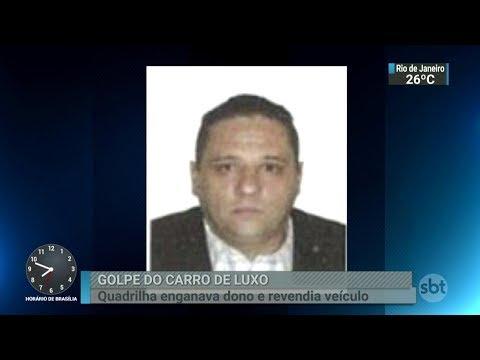 Comerciante de veículos é suspeito de chefiar quadrilha em SP | SBT Brasil (06/03/18)