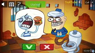 Troll Face Quest Video Games 2 Level 1 2 3 4 5 Solutions