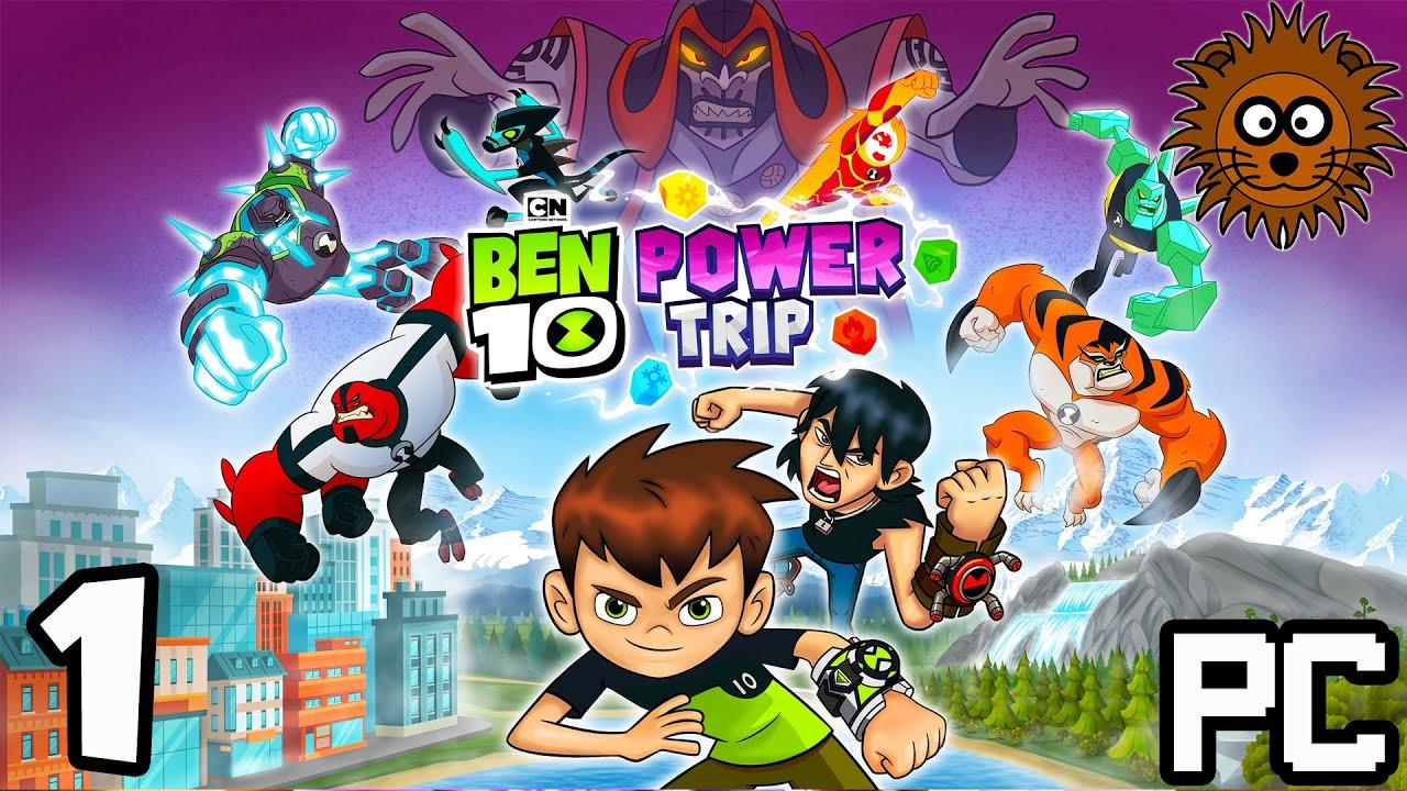 BEN 10 Power Trip Gameplay en Español Latino El Juego Parte 1 PC