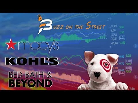 """The Latest """"Buzz on the Street"""" Show: Featuring Retail Tumble (NASDAQ: BBBY) (NYSE: TGT KSS M)"""