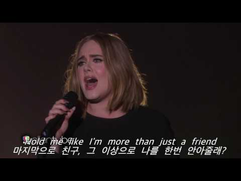 Adele(아델) - All I Ask 엘렌쇼 레전드 라이브 - [한글자막/라이브]