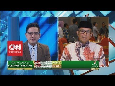 Menang di Pilkada Sulsel, Nurdin Abdullah akan Dukung Jokowi di Tahun Politik