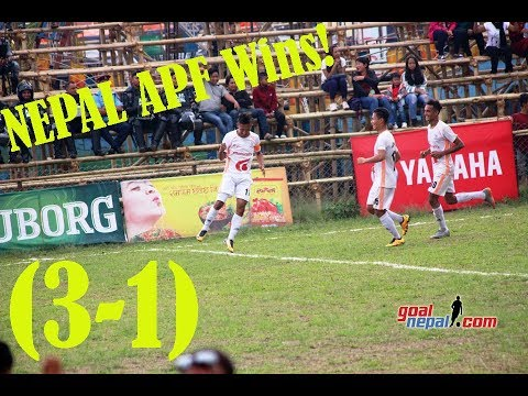 NEPAL APF Vs KAWRON PROGOTI SANGH BANGLADESH (3-1) - MATCH HIGHLIGHTS !!