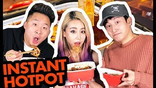 INSTANT SICHUAN HOTPOT w/ WENGIE & CHINESE POP STAR