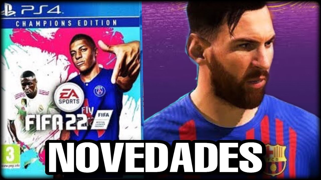 PRIMER VISTAZO A FIFA 22 | PRESENTACIÓN, LANZAMIENTO, PORTADA