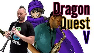 dragon quest 5 toward the horizon sax cover story 🎷 ft mohawk gaymer