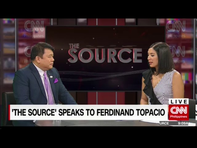 'The Source' speaks to Atty. Ferdinand Topacio